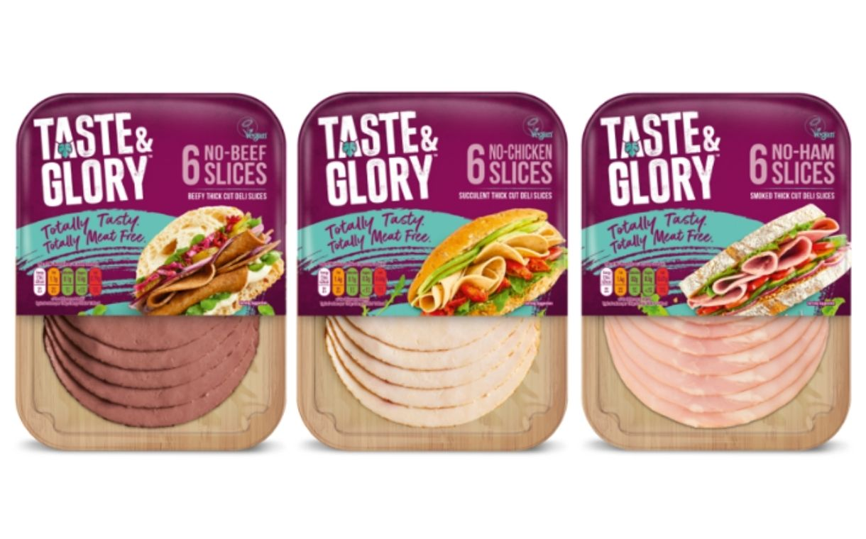 Kerry launches new Taste & Glory vegan lunchtime deli slices