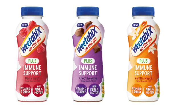 Weetabix On The Go launches immunity support range