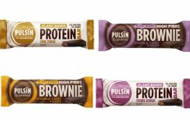 Pulsin releases choc-covered protein and brownie bars