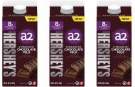 The A2 Milk Company and Hershey's team up to release chocolate milk