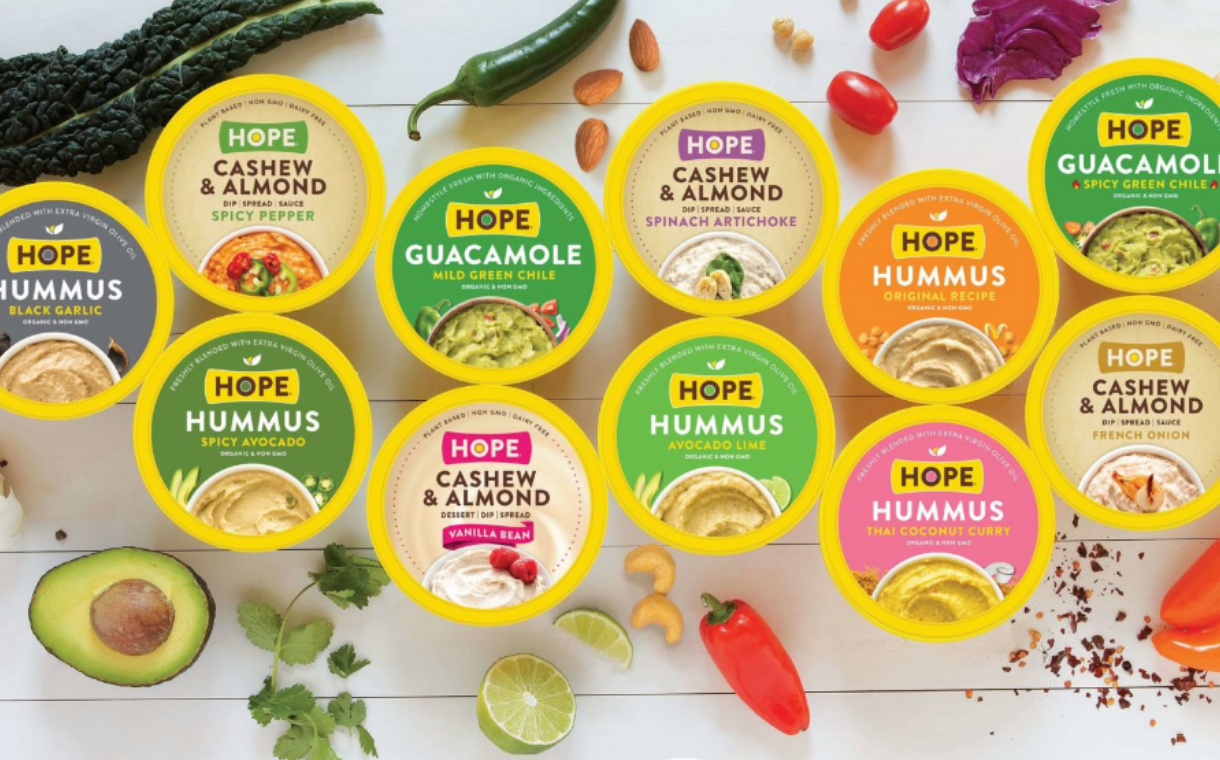 French dairy firm Savencia buys US plant-based dip maker Hope Foods