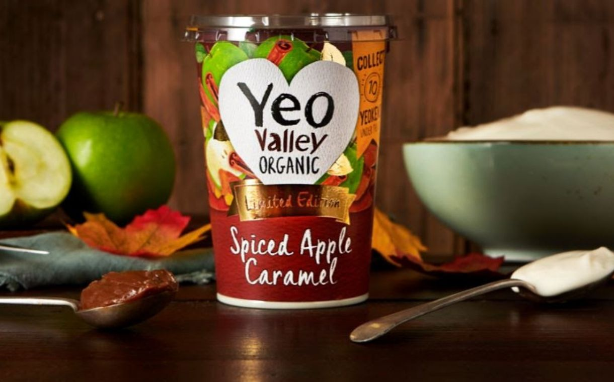 Yeo Valley introduces autumnal limited-edition yogurt