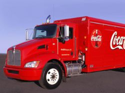 Coke goes green with diesel-electric trucks